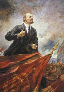 Aleksandr Gerasimov. Lenin on the Tribune