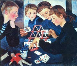 "Zinaida Serebriakova ""House of Cards"""