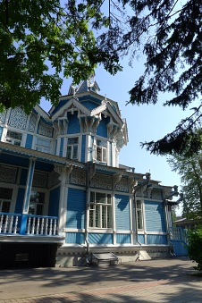Tomsk wooden architecture